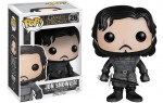 GAME OF THRONES Le Trône de fer POP! Vinyl Figurine Jon Snow Castle Black 10 cm