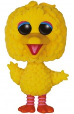 1 RUE SESAME Figurine POP! TV Vinyl Big Bird (Flocked) 15 cm