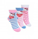 HELLO KITTY 4 paires de chaussettes