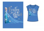 LA REINE DES NEIGES T-Shirt enfant Frozen Heart