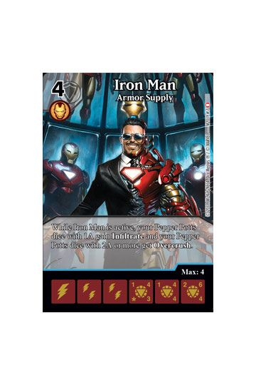 Marvel Dice Masters: Stark Industries Monthly Organized Play Kit
