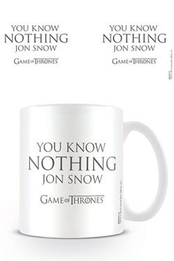 Le Trône de fer mug You Know Nothing Jon Snow
