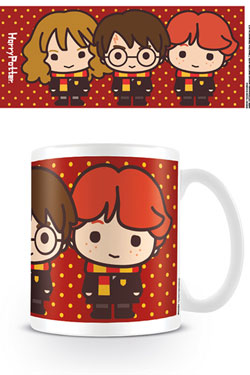 Harry Potter mug Kawaii Harry Ron Hermione