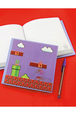 Super Mario Bros. cahier relié 3D Mario Bros Level