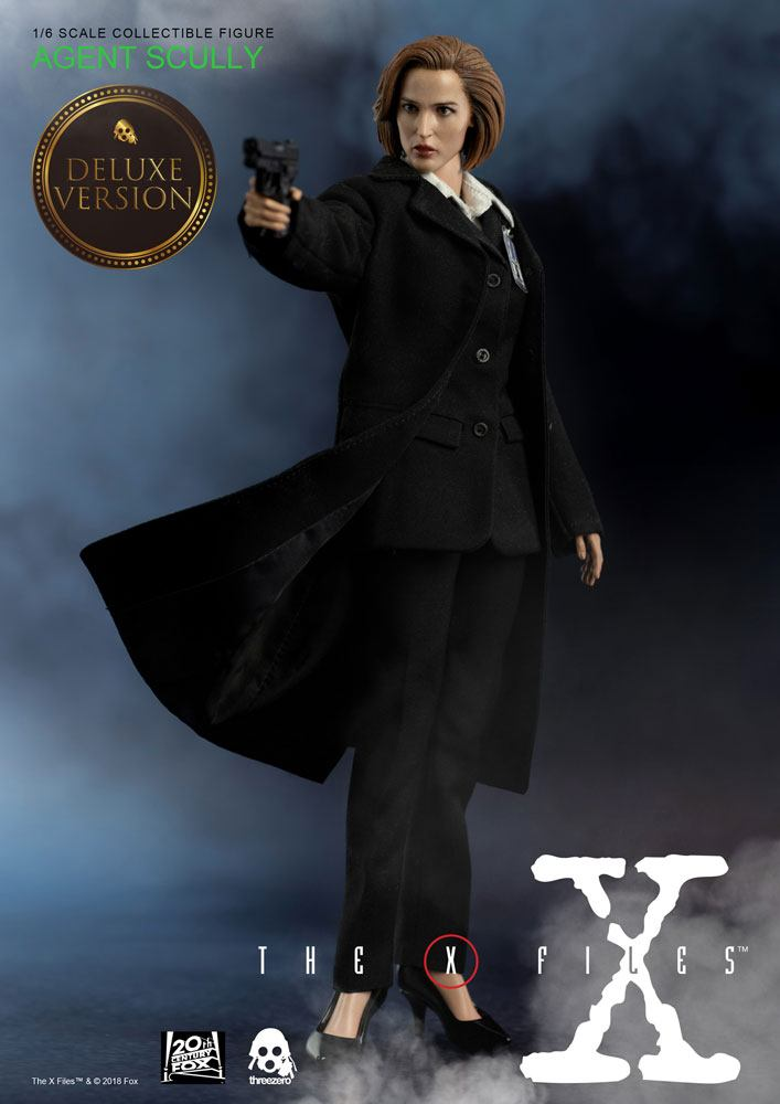 X-Files figurine 1/6 Agent Scully Deluxe Version 28 cm