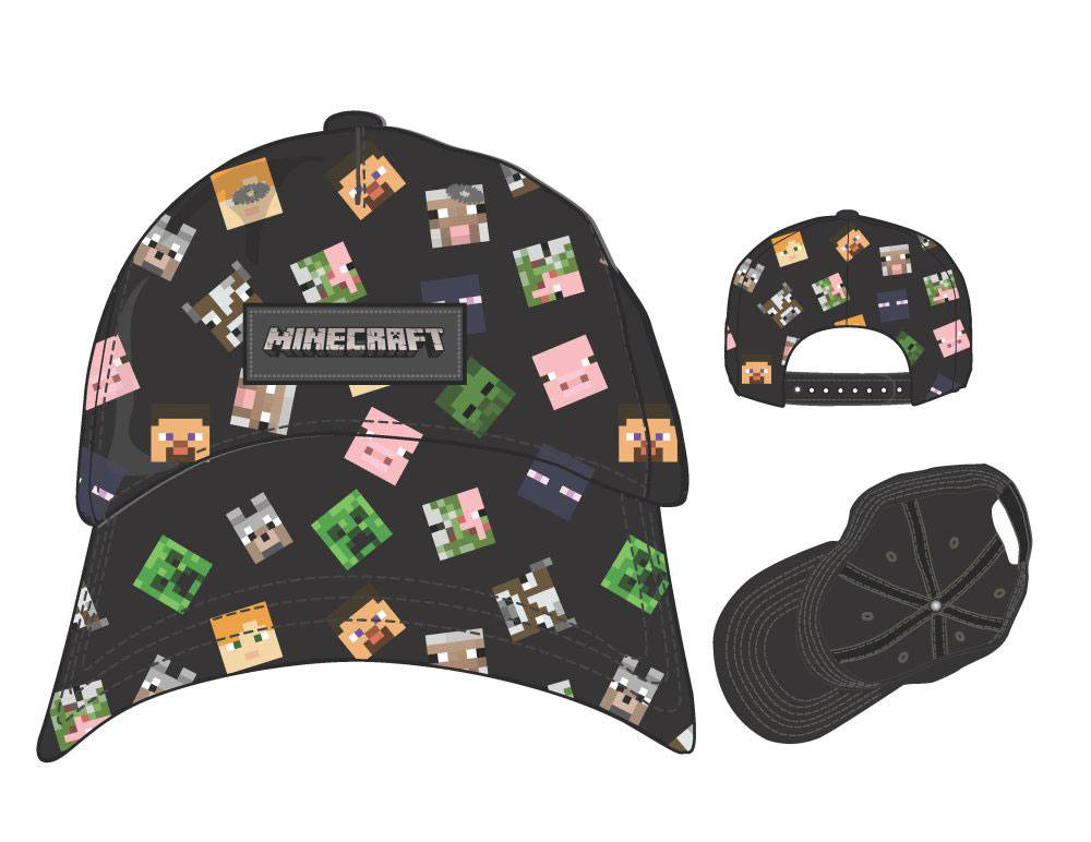 Minecraft casquette baseball All Over Print