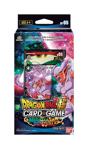 Dragonball Super Card Game Season 5 special pack Miraculous Revival *ANGLAIS*