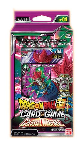 Dragonball Super Card Game Season 4 special pack Colossal Warfare *ANGLAIS*