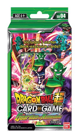 Dragonball Super Card Game Season 4 starter deck 4 The Guardian of Namekians *ANGLAIS*