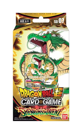 Dragonball Super Card Game Season 5 starter deck Shenron's Advent *ANGLAIS*