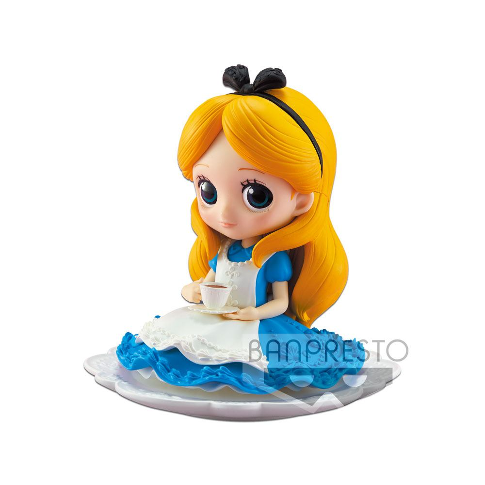 Disney figurine Q Posket SUGIRLY Alice Normal Color Ver. 9 cm
