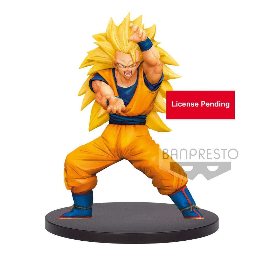 Dragon Ball Super statuette PVC Chosenshiretsuden Super Saiyan 3 Son Goku 16 cm