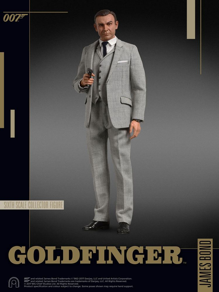 James Bond Goldfinger figurine 1/6 Collector Figure Series James Bond (Grey Suit) 30 cm