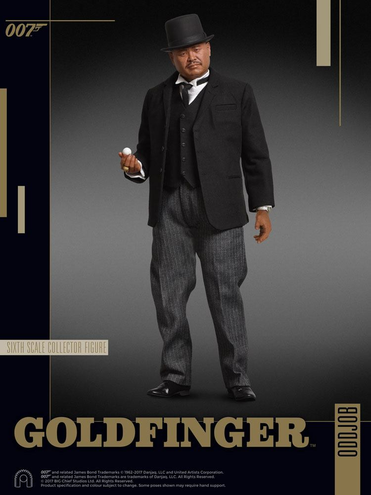James Bond Goldfinger figurine 1/6 Collector Figure Series Oddjob 30 cm