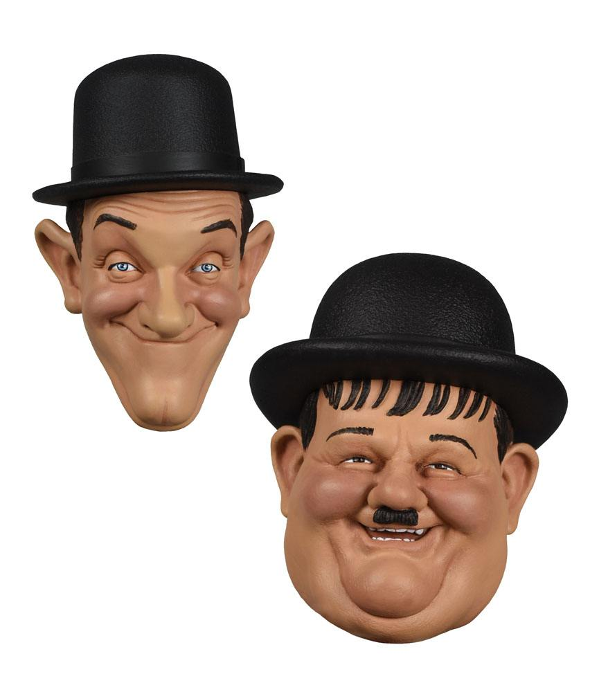 Laurel et Hardy pack 2 aimants 7 cm