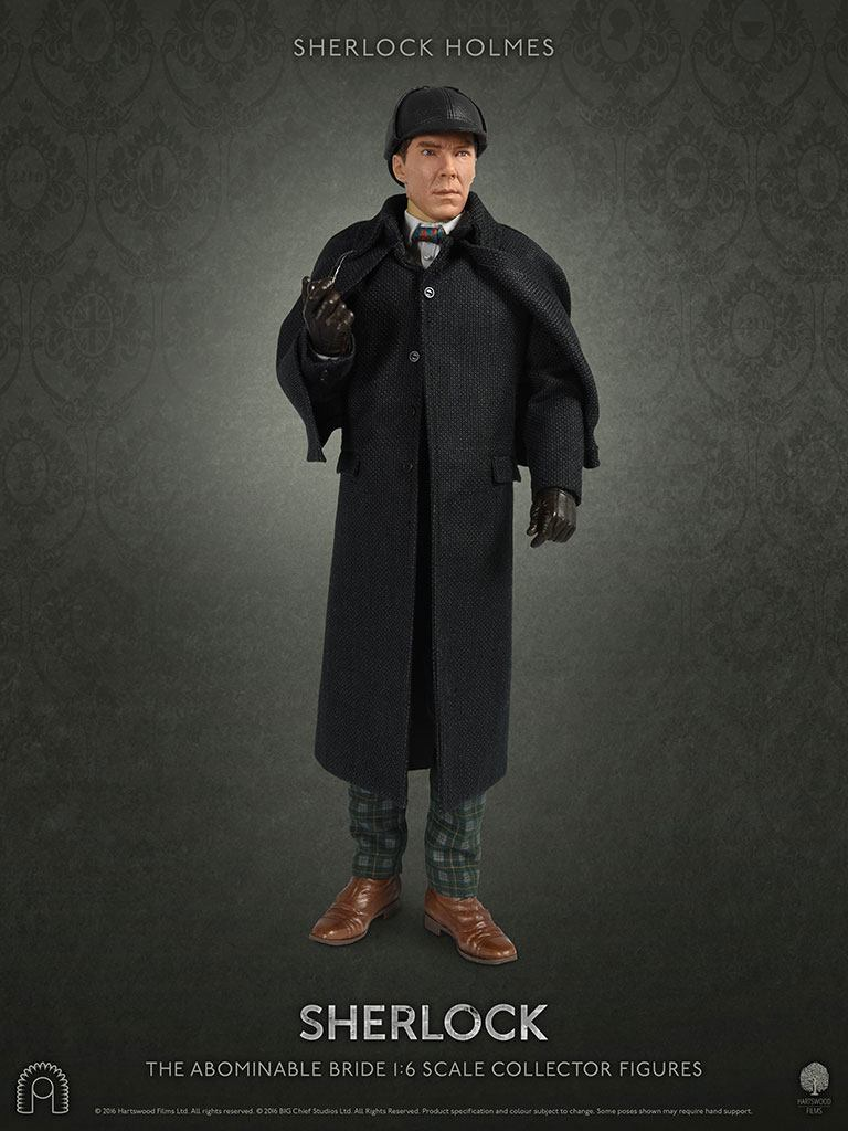 Sherlock figurine 1/6 Collector Figure Series Sherlock Holmes The Abominable Bride 30 cm