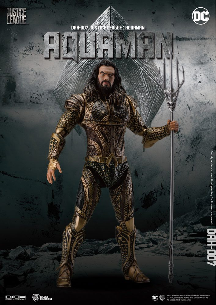 Justice League figurine Dynamic 8ction Heroes 1/9 Aquaman 20 cm