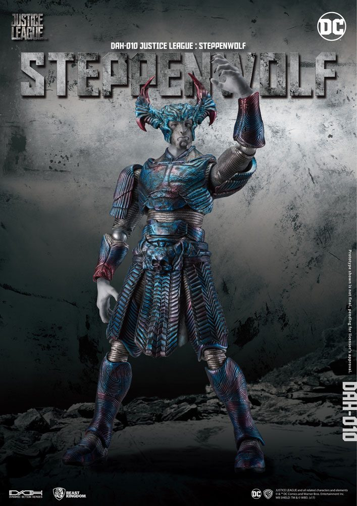 Justice League figurine Dynamic 8ction Heroes 1/9 Steppenwolf 22 cm