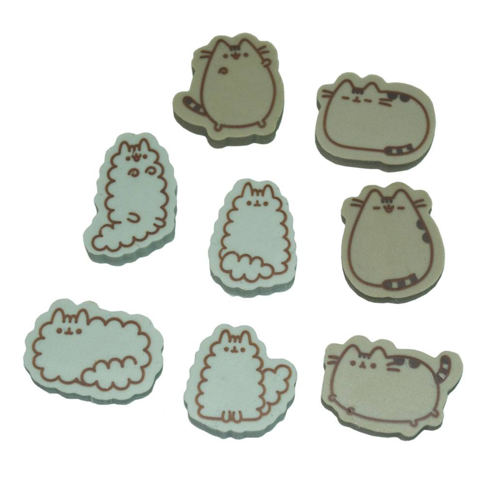 Pusheen pack 8 gommes