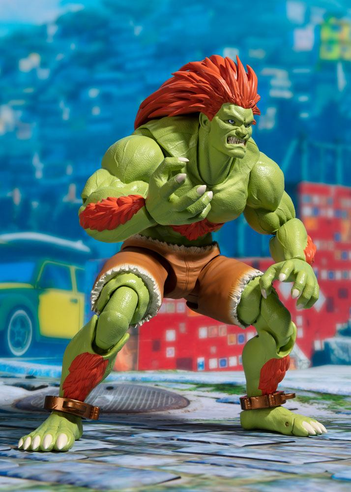 Street Fighter figurine S.H. Figuarts Blanka Tamashii Web Exclusive 16 cm