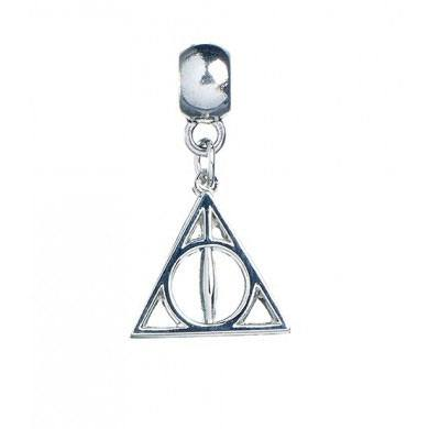 Harry Potter breloque plaquée argent Deathly Hallows