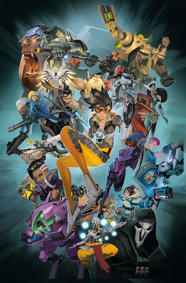 Overwatch Anthology Volume 1 *ANGLAIS*