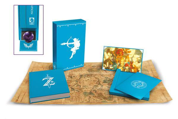 Legend of Zelda Breath of the Wild Art book Creating A Champion Hero's Edition *ANGLAIS*