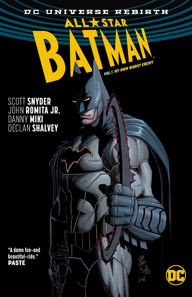 DC Comics bande dessinée All Star Batman Vol. 1 My Own Worst Enemy by Scott Snyder *ANGLAIS*