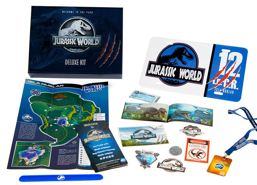Jurassic World coffret cadeau Deluxe Welcome to the Park