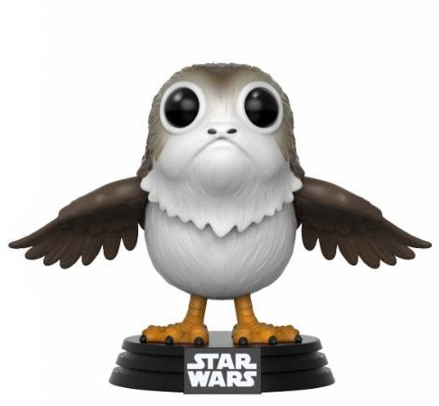Star Wars Episode VIII POP! Vinyl Bobble Head Porg 9 cm