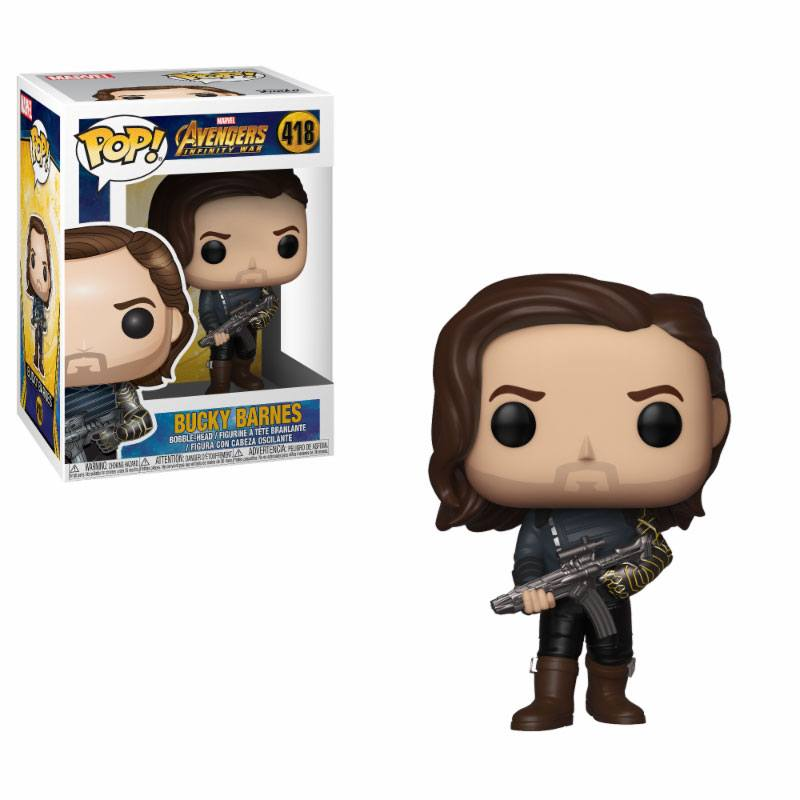 Avengers Infinity War POP! Movies Vinyl figurine Bucky 9 cm