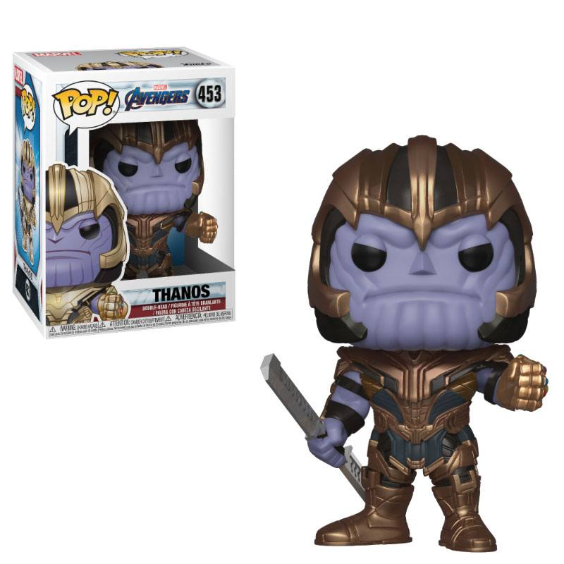 Avengers Endgame POP! Movies Vinyl figurine Thanos 9 cm