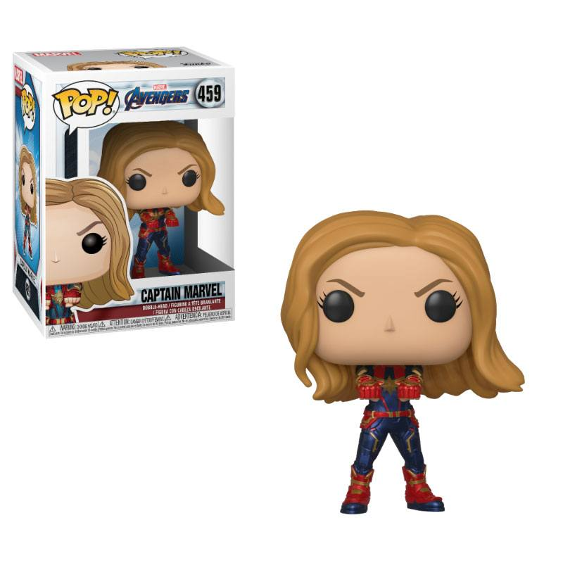 Avengers Endgame POP! Movies Vinyl figurine Captain Marvel 9 cm