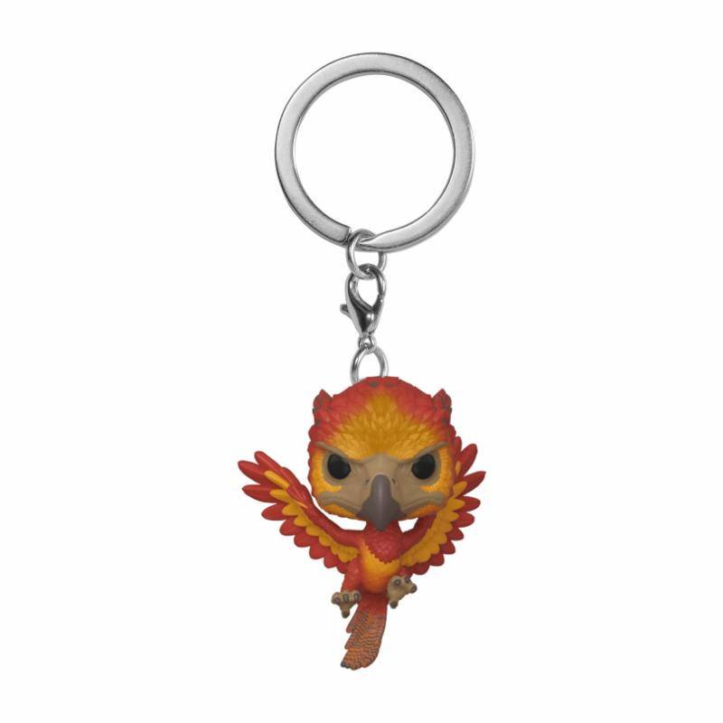 Harry Potter porte-clés Pocket POP! Vinyl Fawkes 4 cm
