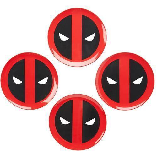 Marvel pack 4 plaques Deadpool Icon