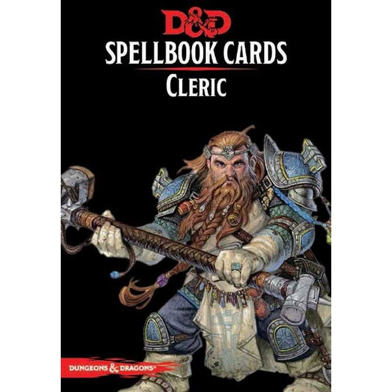 Dungeons & Dragons jeu de cartes Spellbook Cards: Cleric Deck *ANGLAIS*