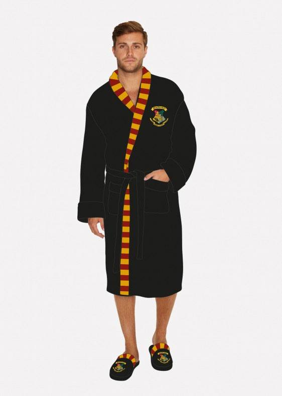 Harry Potter peignoir de bain polaire Hogwarts