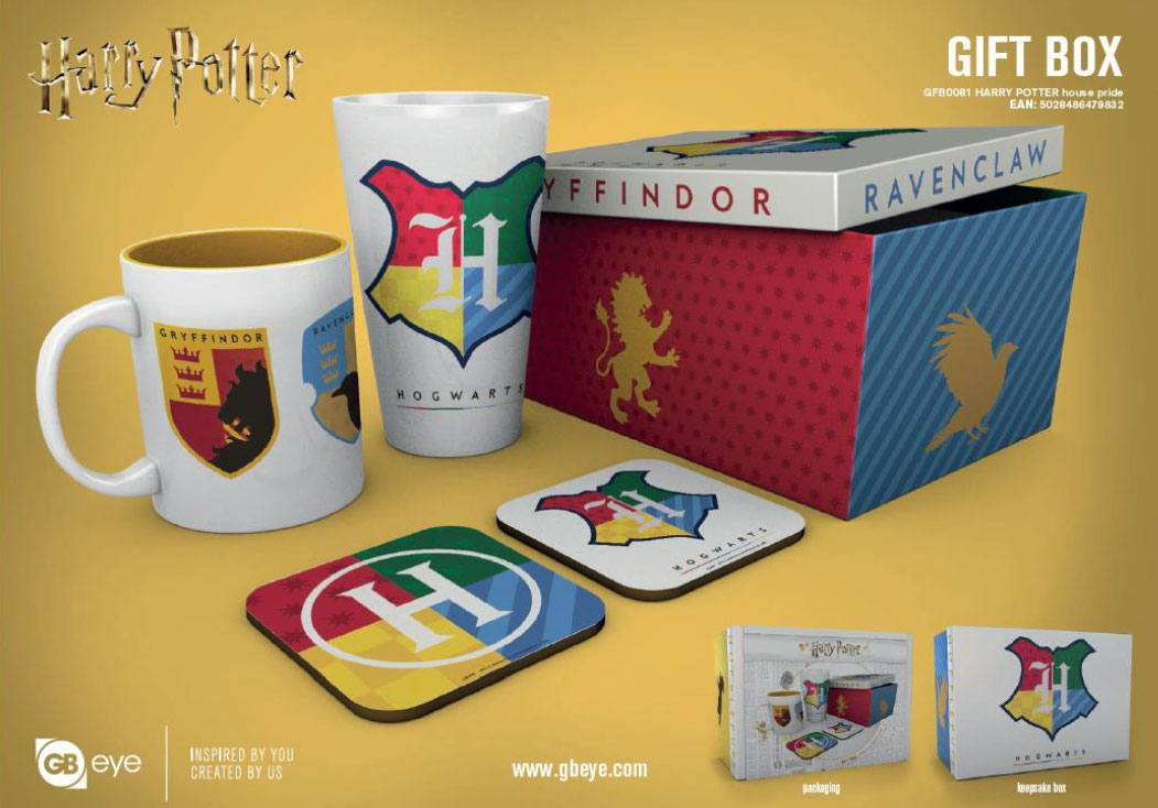Harry Potter coffret cadeau House Pride
