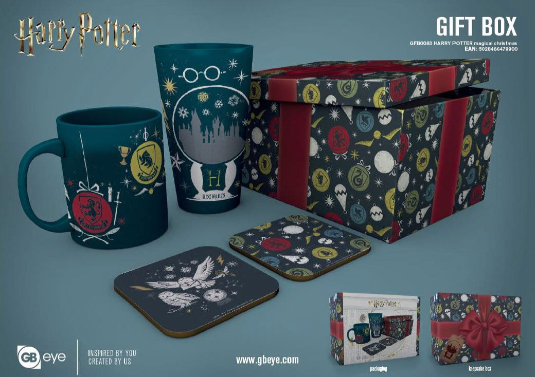 Harry Potter coffret cadeau Magical Christmas