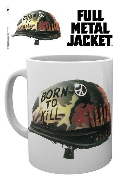 Full Metal Jacket mug Helmet Born To Kill