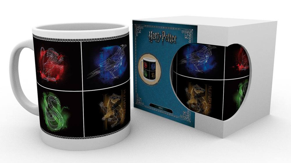 Harry Potter mug Crests heo Exclusive