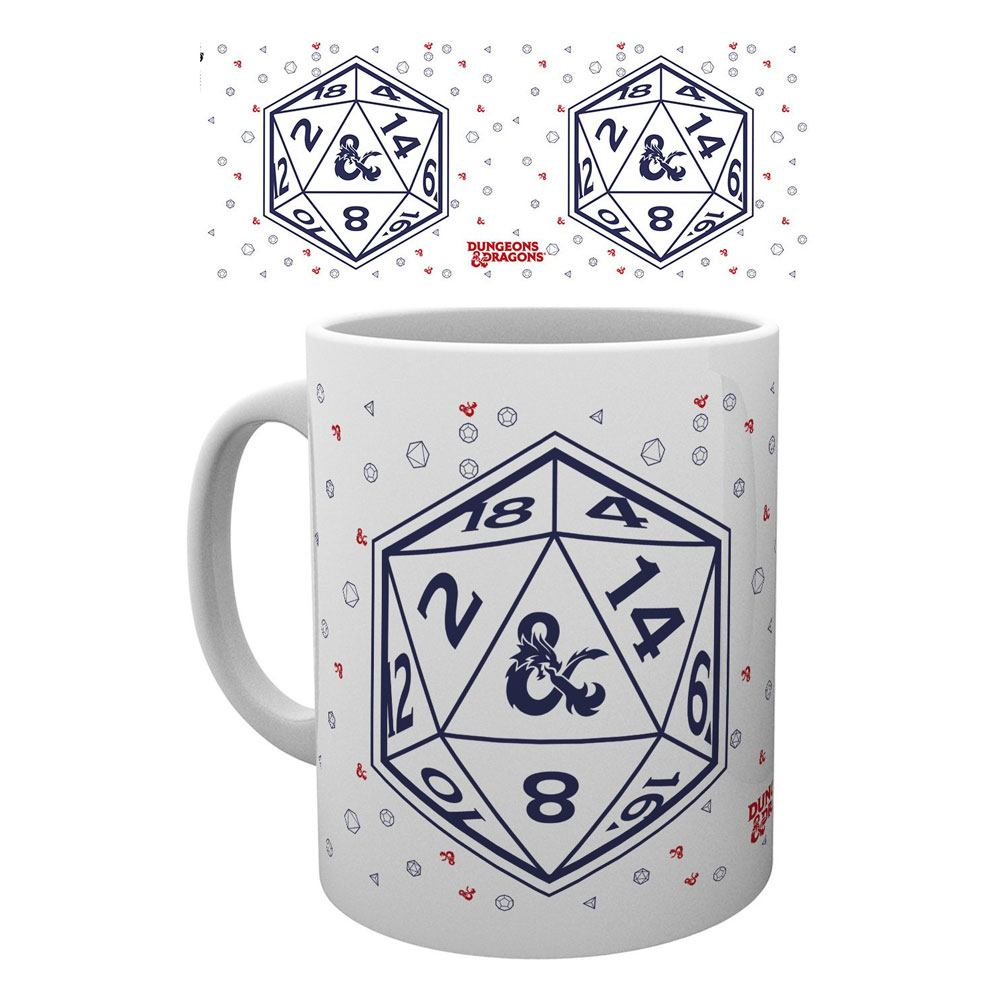Dungeons & Dragons mug D20