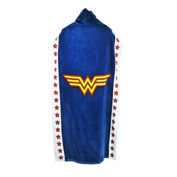 Wonder Woman serviette de bain (cape) Logo 135 x 72 cm