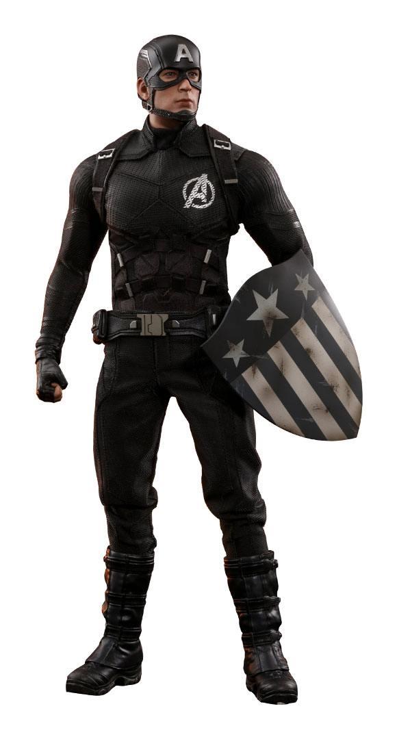 Marvel figurine MMS 1/6 Captain America Concept Art 2018 Toy Fair Exclusive 31 cm
