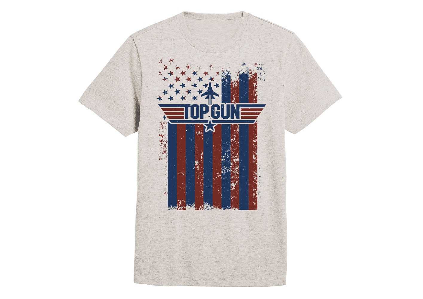 Top Gun T-Shirt Flag (L)