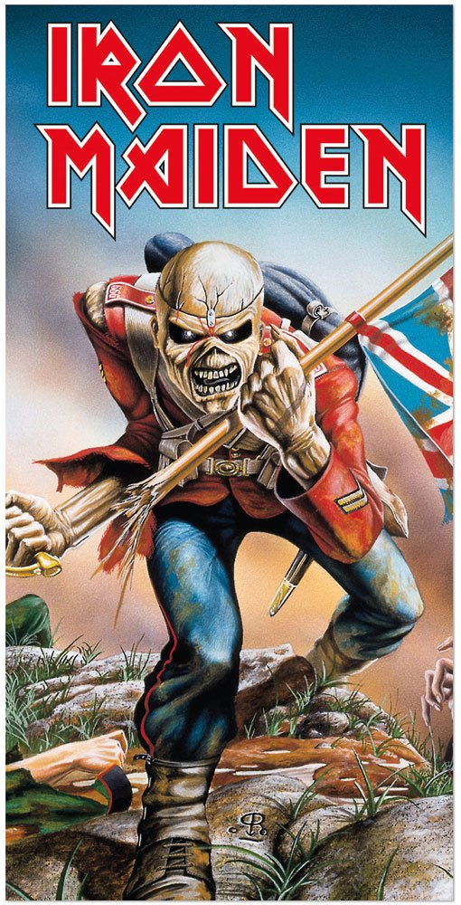Iron Maiden serviette de bain Trooper 150 x 75 cm