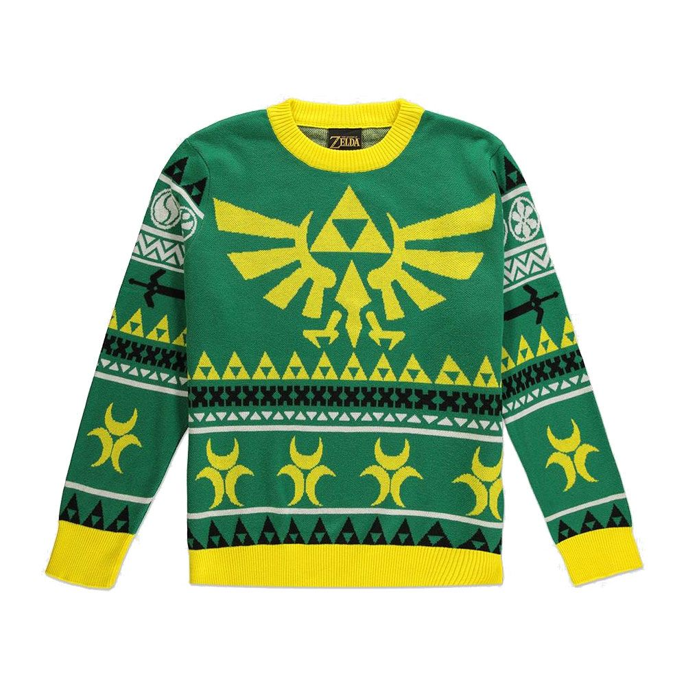 Legend of Zelda Sweater Christmas Hyrule Bright (M)