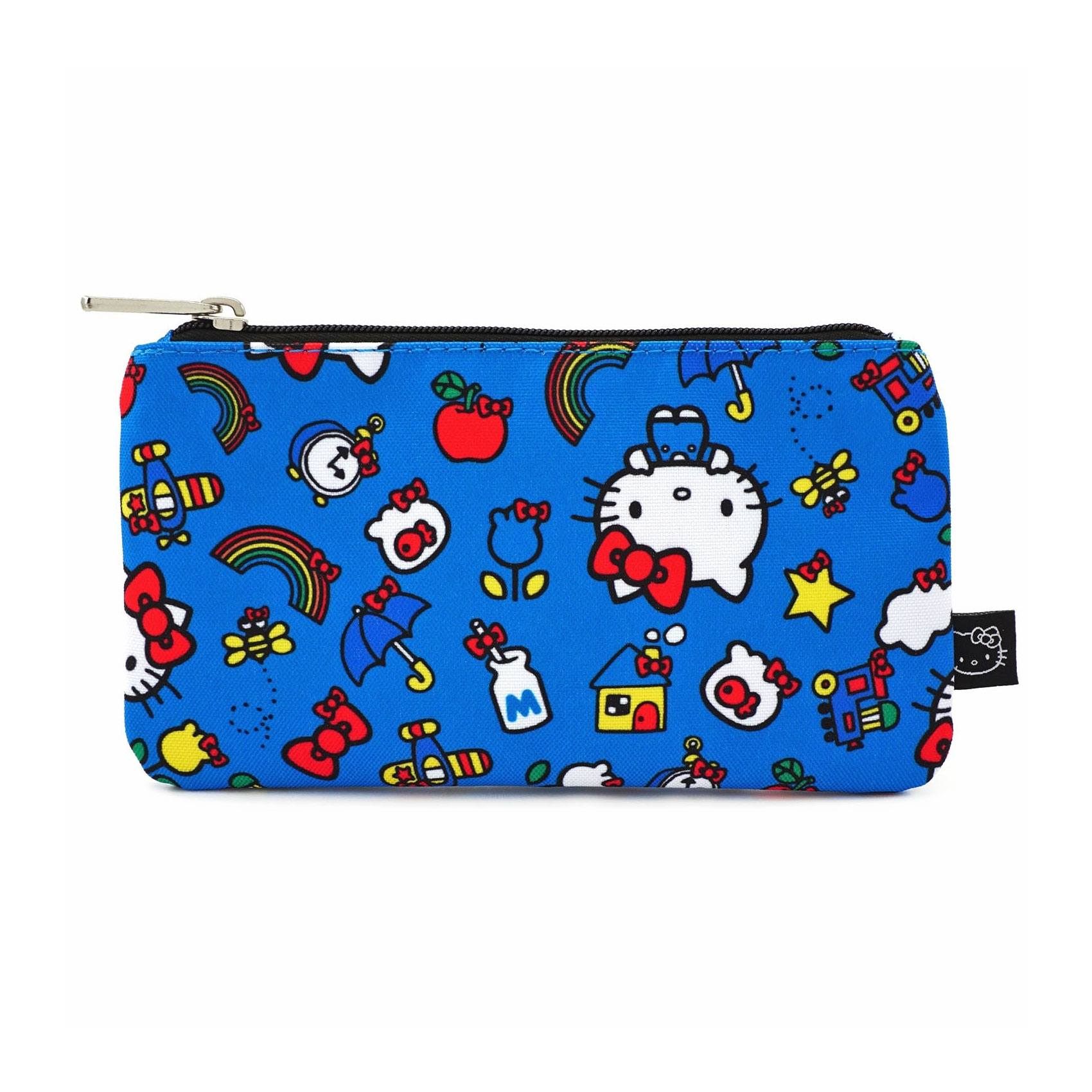 Hello Kitty by Loungefly sac cosmétique Kitty & Rainbow Pattern