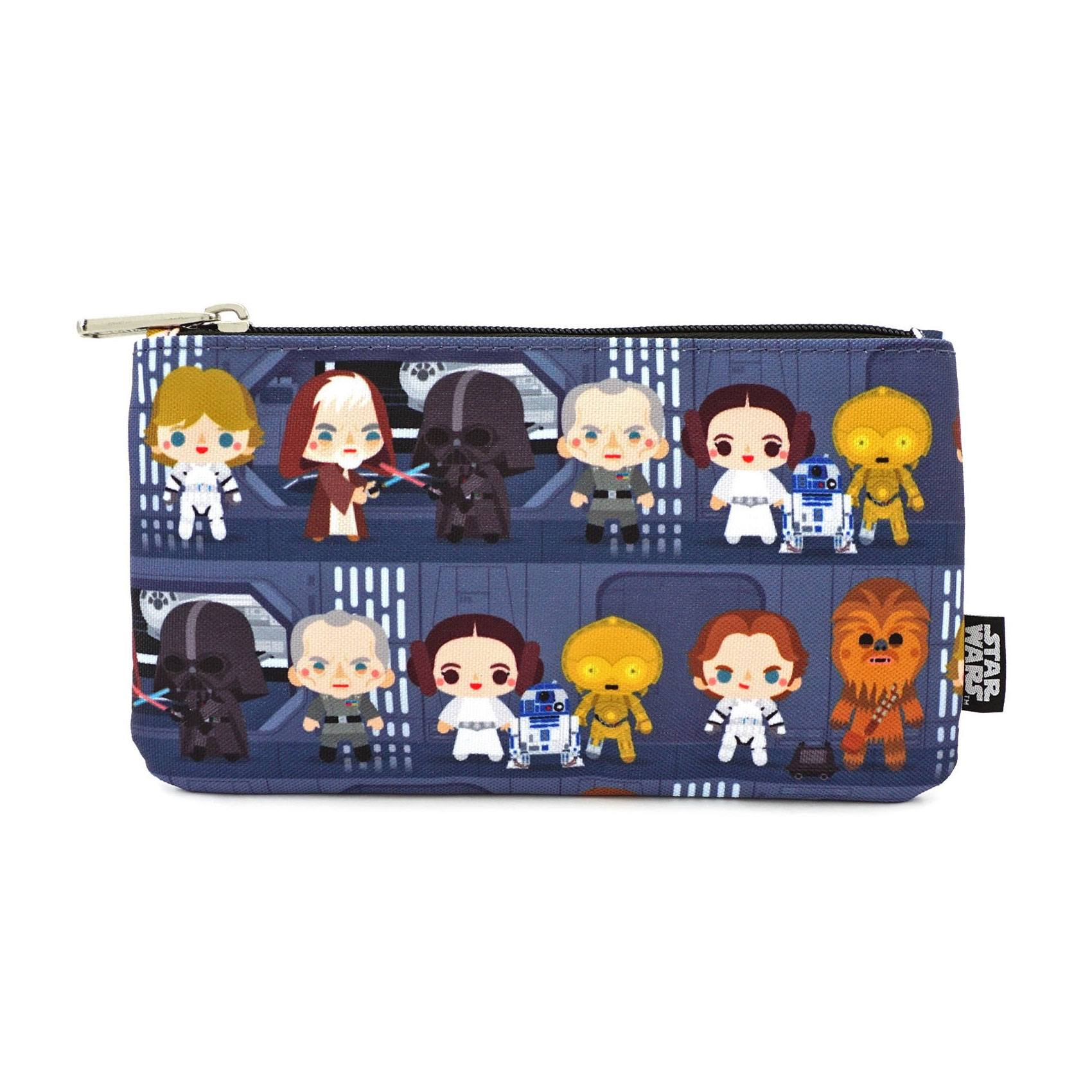 Star Wars by Loungefly sac cosmétique Chibi Characters