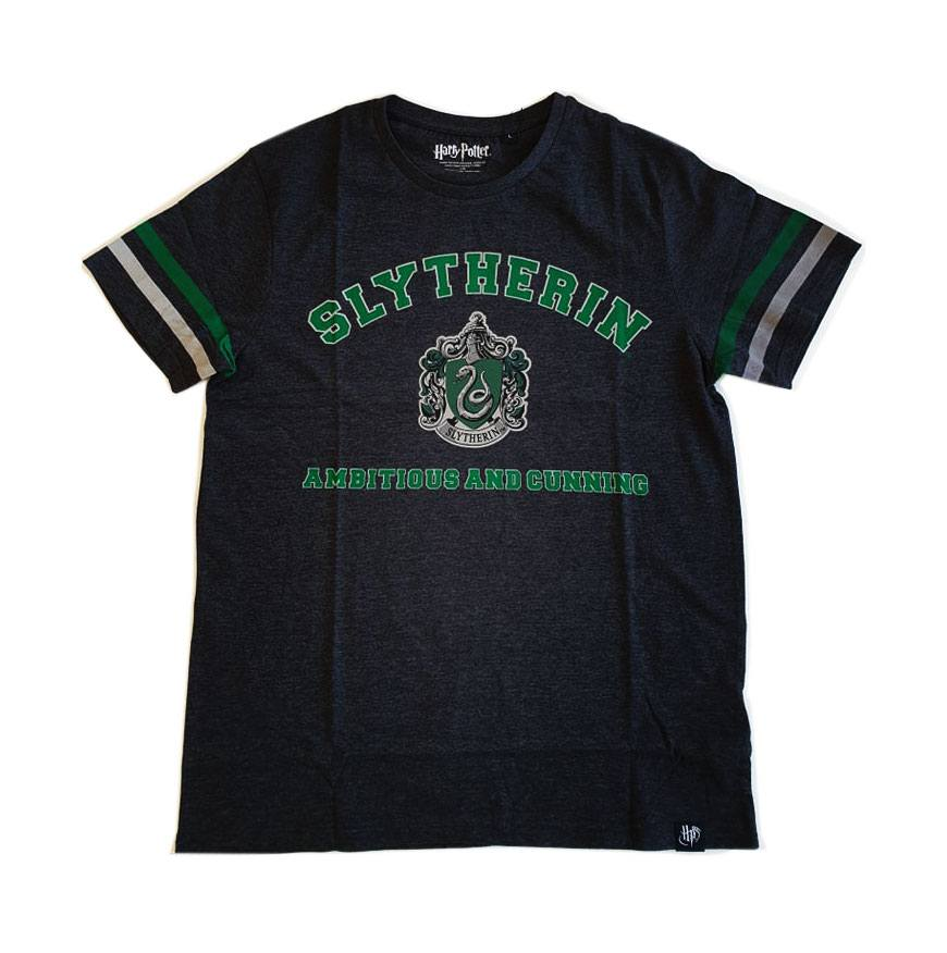 Harry Potter T-Shirt Slytherin Ambitious and Cunning (L)